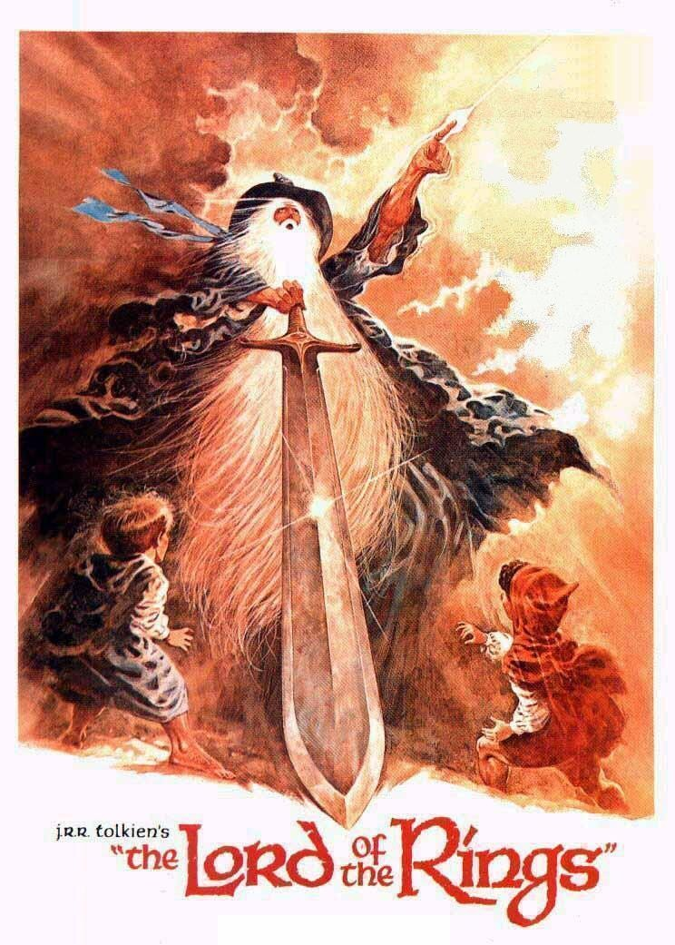 1978 lord of the rings movie poster