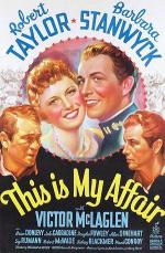 Агент президента / This Is My Affair (1937)